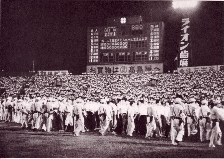 阪神初主催のナイトゲームで起こった第一次難波事件【1953年7月23日】