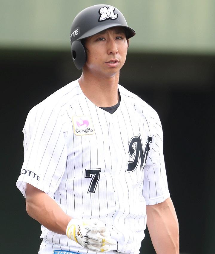 秀平 ロッテ 福田