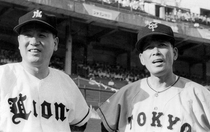 水原茂&三原修「プロ野球で最高のライバル・ストーリー」/プロ野球20 ...