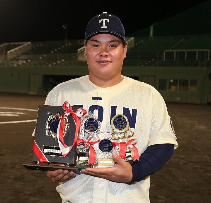 10試合で8本塁打。「プロ一本」に絞った横浜桐蔭大の右の大砲・渡部健 ...